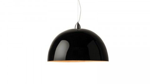 Suspension simple en bambou noir - Collection Halong - Good&Mojo