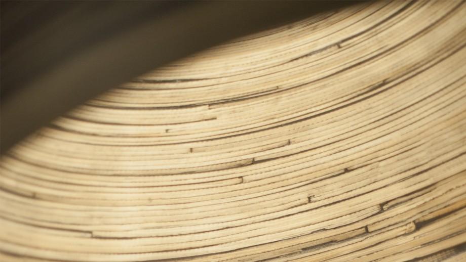 Suspension double en bambou noir - Collection Halong - Good&Mojo
