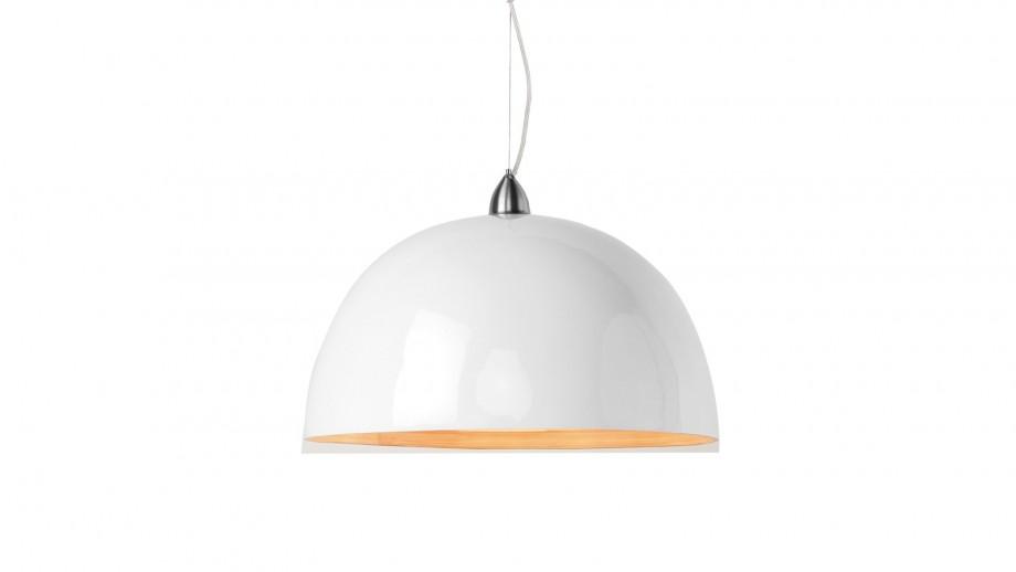 Suspension simple en bambou blanc - Collection Halong - Good&Mojo