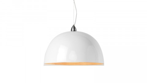 Suspension simple en bambou blanc - Collection Halong - Good&Mojo