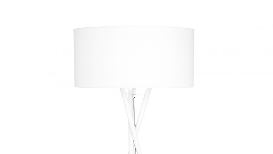 Lampadaire blanc - Collection Hampton - It's About Romi