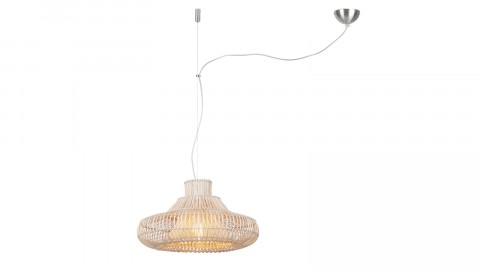 Suspension osier simple abat jour S - Collection Kalahari - Good&Mojo