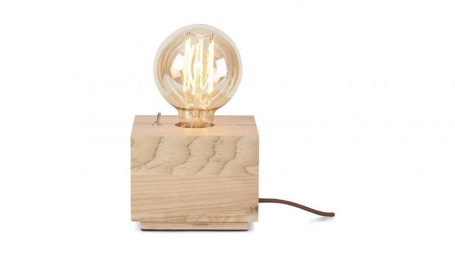 Lampe à poser carré en frêne - Collection Kobe - It's About Romi