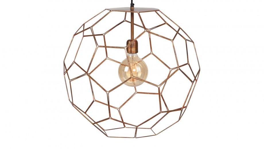 Suspension en fil de fer cuivre L - Collection Marrakesh - It's About Romi