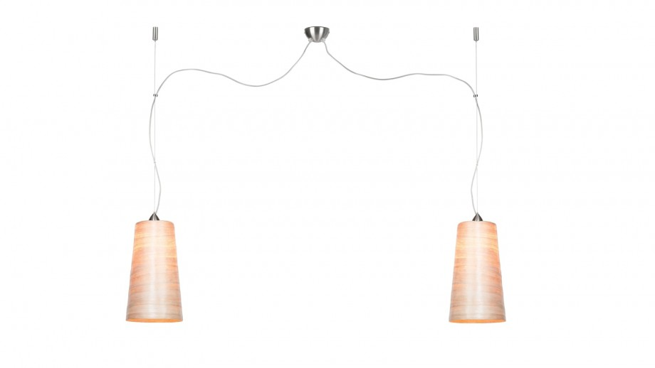 Suspension double en abaca L - Collection Sahara - Good&Mojo