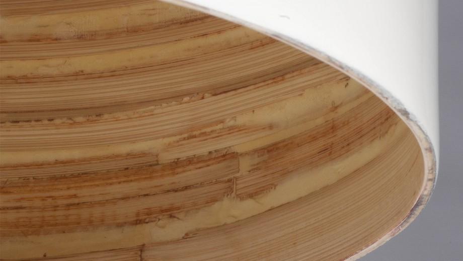 Suspension en bambou blanc - Collection Saigon - Good&Mojo