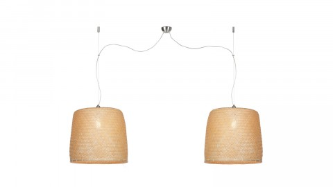 Suspension double en bambou - Collection Serengeti - Good&Mojo