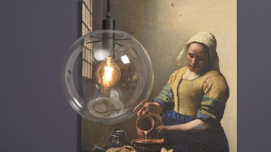 Suspension ronde en verre - Collection Warsaw - It's About Romi