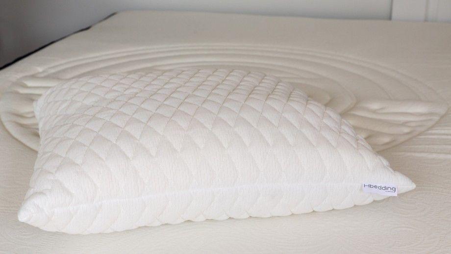 Matelas mousse à mémoire de forme 90x190 Visco Fresh Hbedding + 1 oreiller à mémoire de forme 60x60cm