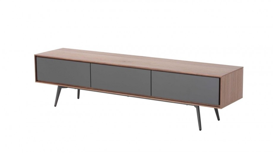 Meuble TV 1 porte 2 tiroirs - Collection Abys - Zago