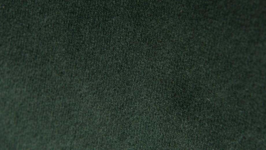Lot de 2 chaises repas en velours vert - Collection Bari - Zago