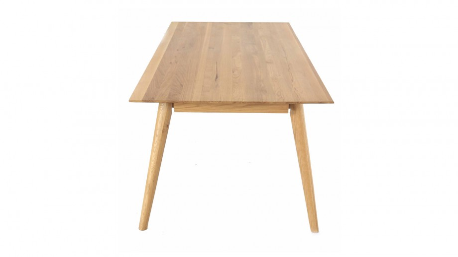 Table à manger rectangulaire en chêne - Collection Elfy - Zago