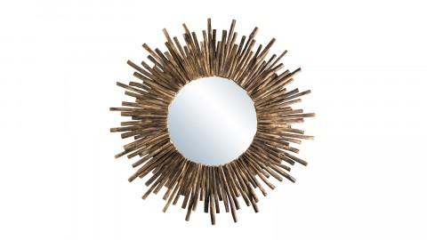 Miroir rond soleil en branches - Collection Mia