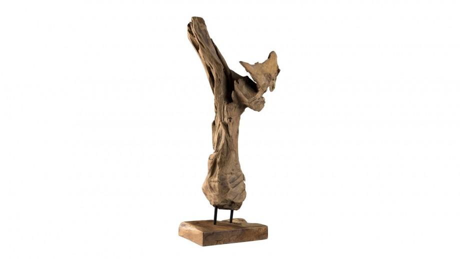 """Objet décoratif branche naturelle """"S"""" - Collection Clara"""