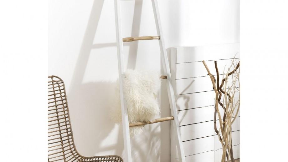 Porte serviettes en pin recyclé - Collection Camilla