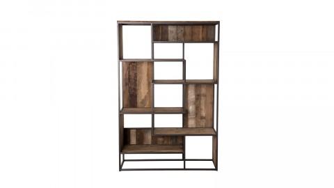 Etagère 6 niveaux en teck recyclé acacia et métal - Collection Athena