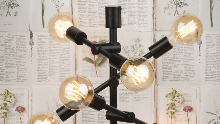 Lampe de table en fer noir - Collection Nashville - It's About Romi