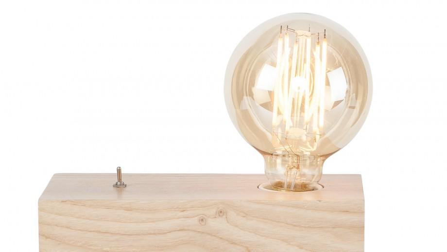 Lampe à poser bloc en frêne - Collection Kobe - It's About Romi