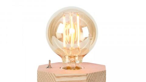 Lampe à poser octogonale en frêne - Collection Kobe - It's About Romi