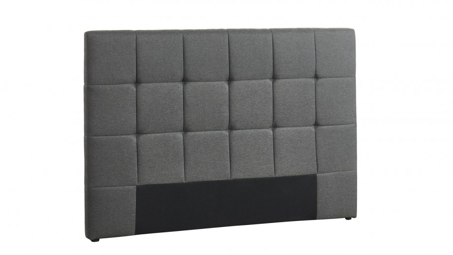 Tête de lit gris foncé 140cm - Collection Willy