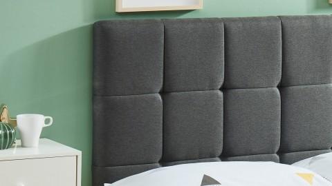 Tête de lit gris foncé 140cm - Collection Willy