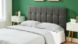 Tête de lit gris foncé 160cm - Collection Willy