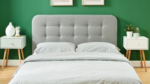 Tête de lit gris clair 140cm - Collection Sally