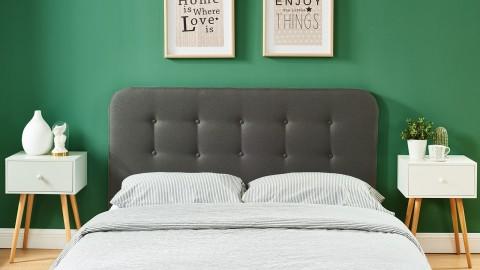 Tête de lit gris foncé 160cm - Collection Sally