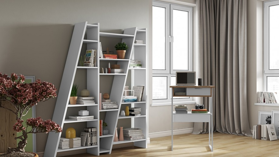 Etagère triple blanche - Collection Delta - Temahome