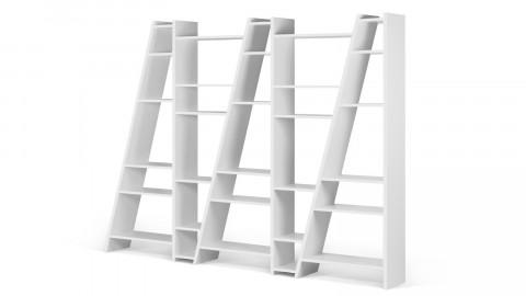 Etagère 5 blocs blanche - Collection Delta - Temahome