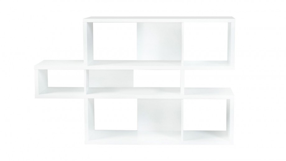 Etagère S en contreplaqué blanc - Collection London - Temahome