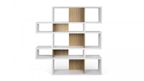 Etagère M en bois blanc et clair - Collection London - Temahome