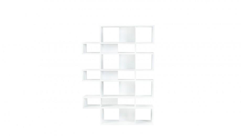 Etagère L en contreplaqué blanc - Collection London - Temahome