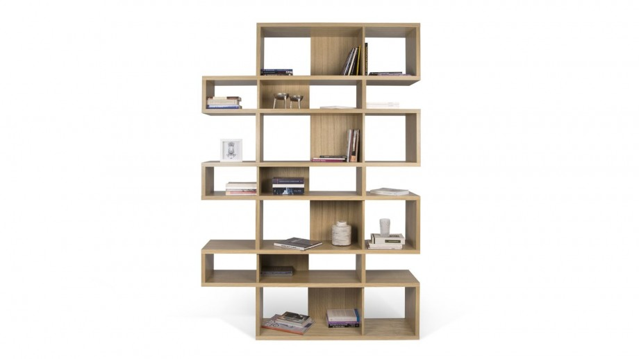 Etagère L en contreplaqué naturel - Collection London - Temahome