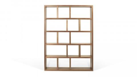 Etagère 5 niveaux 150cm en bois noisette - Collection Berlin - Temahome