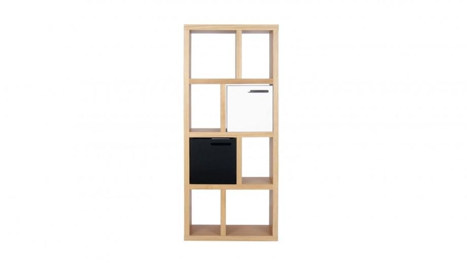 Etagère 4 niveaux 70cm en contreplaqué naturel - Collection Berlin - Temahome