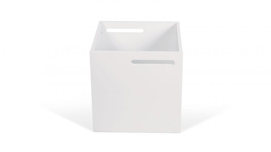 Boite de rangement blanc mat pour étagère Berlin - Temahome