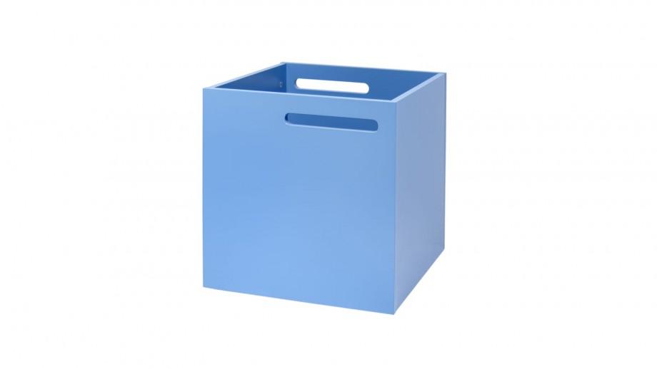 Boite de rangement bleu clair mat pour étagère Berlin - Temahome
