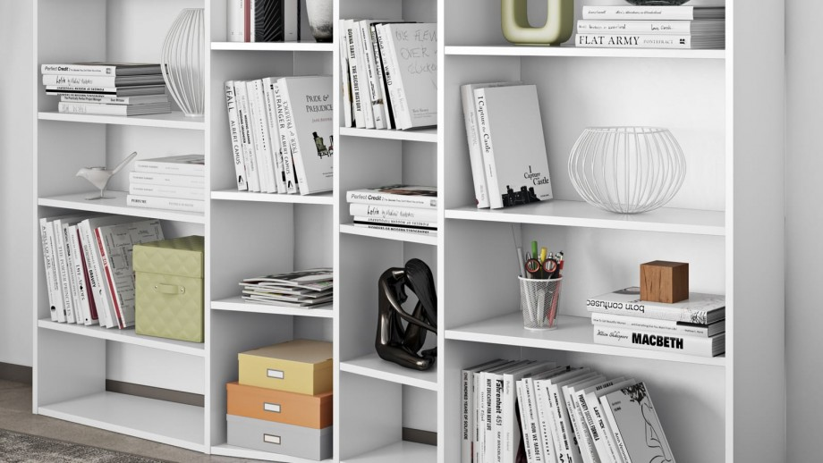 Etagère L blanche Collection - Collection Valsa - Temahome