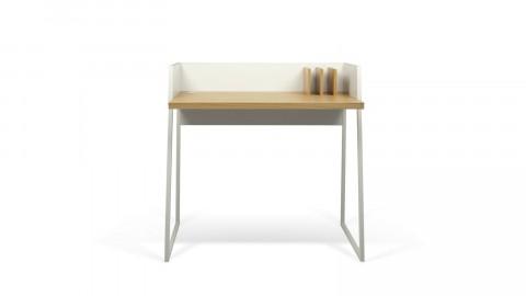 Bureau blanc et bois clair - Collection Volga - Temahome