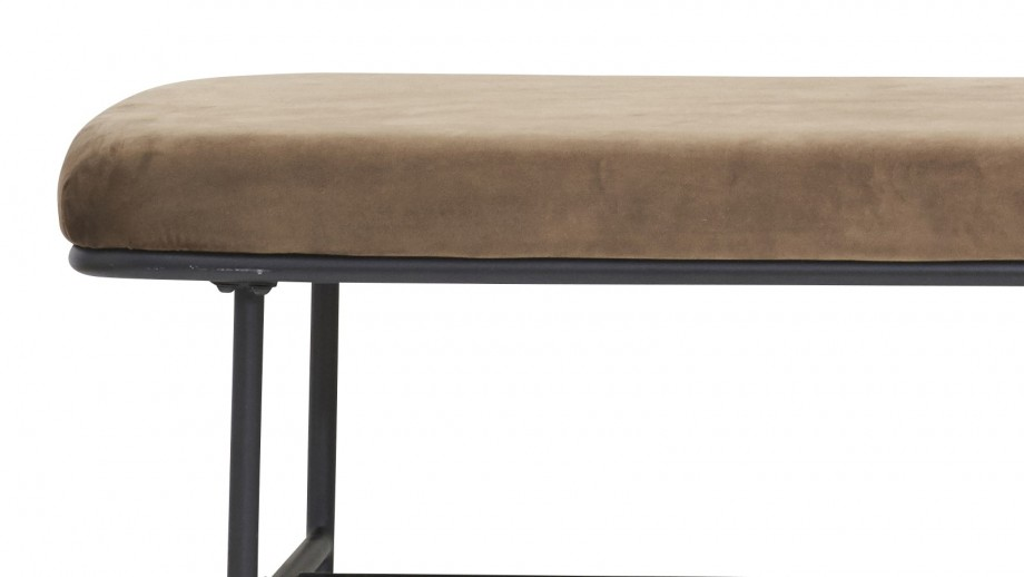 Banc marron - Collection Comma - House Doctor