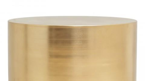 Table basse 50cm en métal Doré - House Doctor