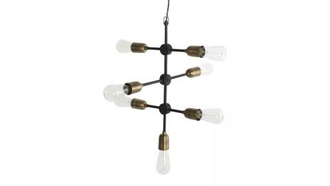 Suspension en métal 7 ampoules - Collection Molecular - House Doctor
