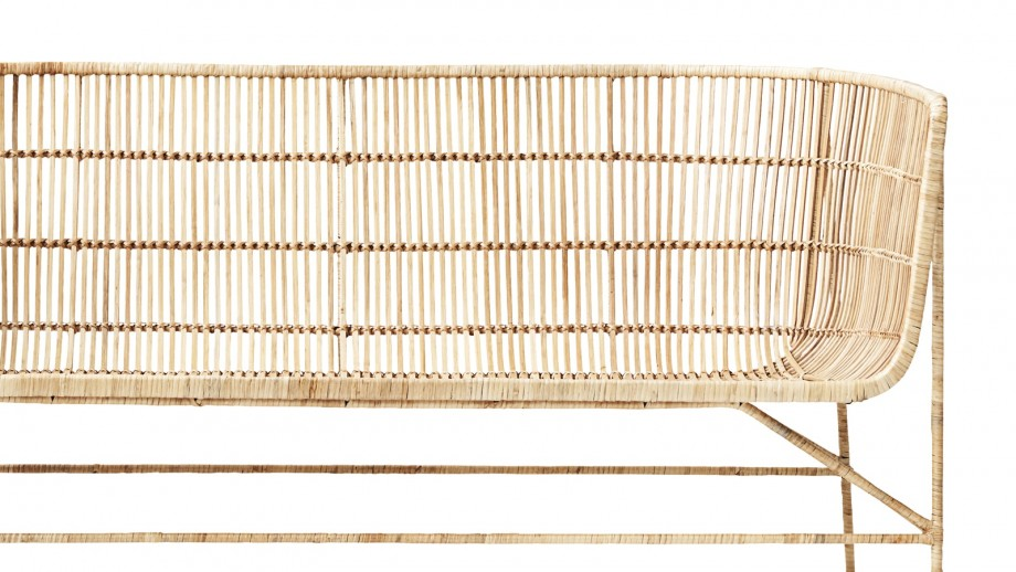 Canapé en rotin naturel - Collection Cuun - House Doctor