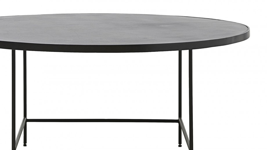 Table basse ronde en métal 100cm - Collection Balance - House Doctor