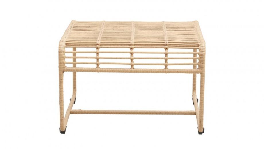 Table basse de jardin marron clair - Collection Oluf - House Doctor