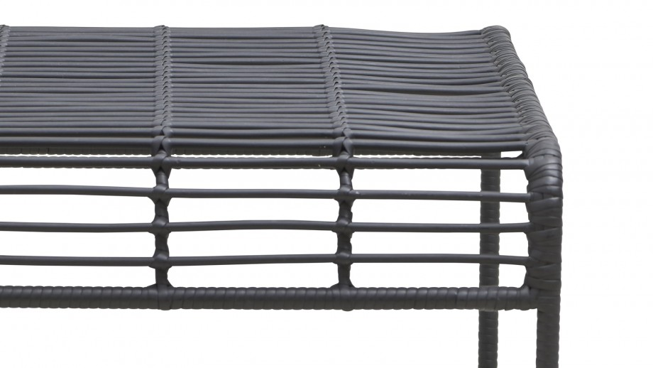 Table basse de jardin noire - Collection Oluf - House Doctor