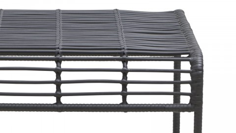 Table basse de jardin noire - Collection Oluf - House Doctor