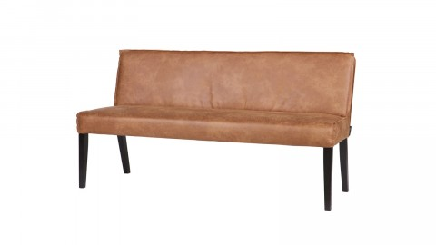 Banc en cuir cognac - Collection rodeo - BePureHome