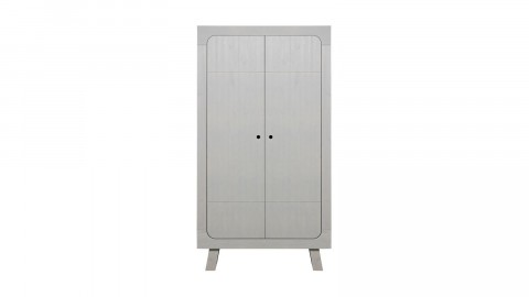 Armoire en pin gris - Collection Sammie - Woood